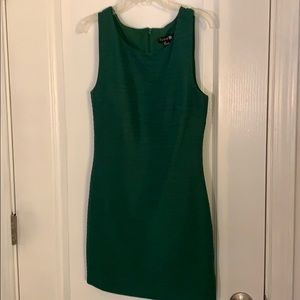 Green Forever 21 body con dress